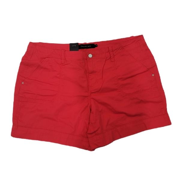 Calvin Klein red short